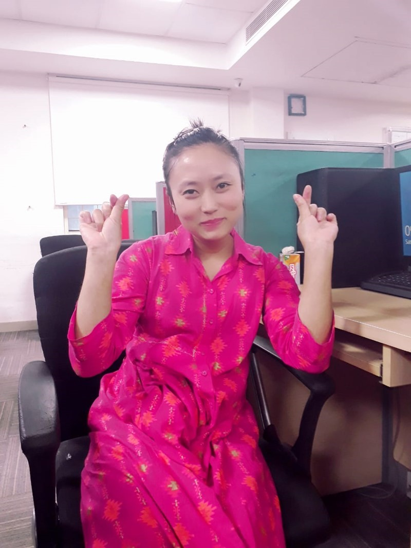 🤩🙋‍♀️✔️ Sweet aupair from Manipur looking for host family 👨‍👩‍👧‍👦