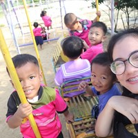 I'm Ning. Aupair form Thailand. I'm 23 years old.